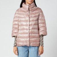 Herno Women's A/Line 3/4 Sleeve Light Jacket - Cipria - IT 42/ UK 10