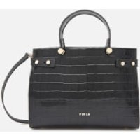 Furla Womens Lady Medium Tote Bag - Black