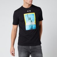 Armani Exchange Men's National Geographic T-Shirt - Black - S