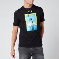 Armani Exchange Men's National Geographic T-Shirt - Black - S