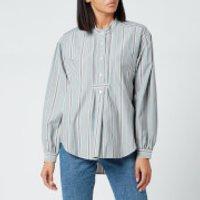 Isabel Marant Etoile Women's Alison Shirt - Greyish Blue - FR 36/UK 8