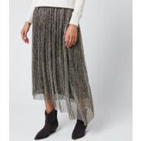 Isabel Marant Etoile Women's Dolmenae Skirt - Silver - FR 40/UK 12
