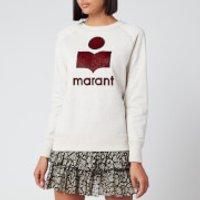 Isabel Marant Etoile Women's Milly Sweatshirt - Ecru/Red - FR 34/UK 6