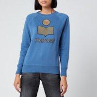 Isabel Marant Etoile Women's Milly Sweatshirt - Blue - FR 38/UK 10