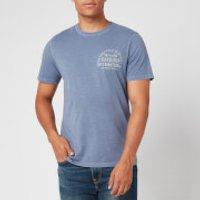 Barbour International Men's Visor T-Shirt - Blue Metal - L