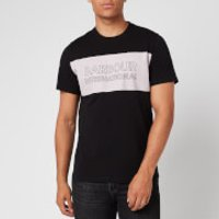 Barbour International Men's Panel Logo T-Shirt - Black - M