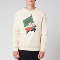 Lanvin Men's Babar Sweatshirt - Ecru - S