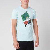 Lanvin Men's Babar T-Shirt - Blue - L