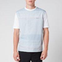 Lanvin Men's Strawberry Print T-Shirt - Blue/Pink - S