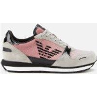 Emporio Armani Women's Running Style Trainers - Pink - UK 7