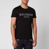 Balmain Men's 3D Logo T-Shirt - Black - L