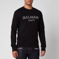 Balmain Men's 3D Effect Sweatshirt - Black - XXL