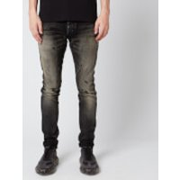 Balmain Men's Selvedge Slim Vintage Jeans - Black - W34