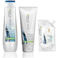 Biolage Advanced KeratinDose Reviving Trio Set for Over-Processed Hair