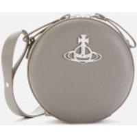 Vivienne Westwood Women's Johanna Round Cross Body Bag - Grey