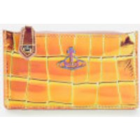 Vivienne Westwood Women's Archive Orb Slim Long Card Holder - Iridescent