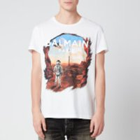 Balmain Men's Astronaut T-Shirt - Multi - L
