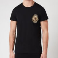 Balmain Men's Badge T-Shirt - Black - L