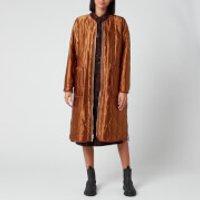 KENZO Women's Reversible Quilted Zipped Coat - Dark Camel - UK 12/EU 42