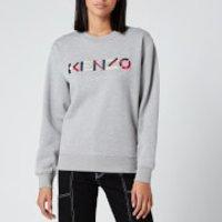 KENZO Women's Classic Fit SW KENZO Logo - Pearl Grey - XS