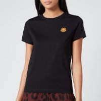 KENZO Women's Classic Fit T-Shirt Tiger Crest - Black - S