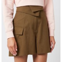 KENZO Women's Utility Shorts - Khaki - UK 12/EU 42