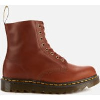 Dr. Martens Men's 1460 Pascal Ziggy Leather 8-Eye Boots - Tan - UK 8