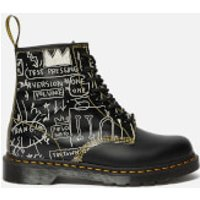 Dr. Martens X Basquiat1460 Leather 8-Eye Boots - White/Black - UK 6