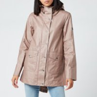 Barbour Womens Gannet Casual Jacket - Fawn - UK 12
