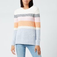 Barbour Women's Seaford Knit - Off White - UK 12