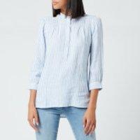 Barbour Women's Dover Shirt - Blue/White - UK 10
