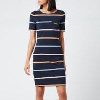 Barbour Women's Stokehold Dress - Navy - UK 14
