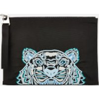 KENZO Men's Kampus Canvas Document Holder - Black