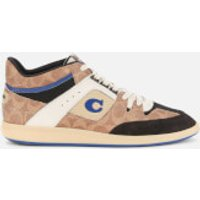Coach Men's Citysole Signature Mid Top Trainers - Signature Tan - UK 9
