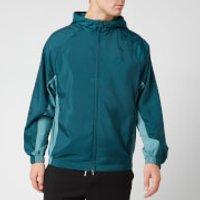 KENZO Men's Packable Windbreaker Jacket - Duck Blue - XL