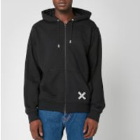 KENZO Men's Sport Full Zip Hoodie - Black - XS