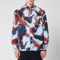 KENZO Men's Shirt - Moroccan Brown - L/16