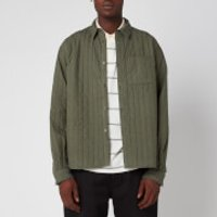 KENZO Men's Quilted Shirt - Fern - L