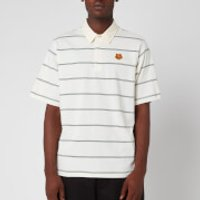 KENZO Men's Striped Seasonal Polo Shirt - Ecru - XL