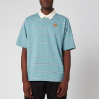 KENZO Men's Striped Seasonal Polo Shirt - Glacier - S