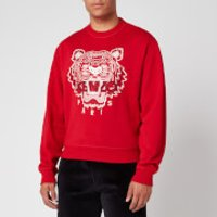 KENZO Men's Classic Tiger Sweatshirt - Cherry - XS