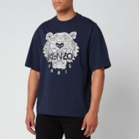 KENZO Men's Stitched Tiger T-Shirt - Navy Blue - M