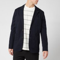 KENZO Men's Casual Two Button Jacket - Navy Blue - 48/M