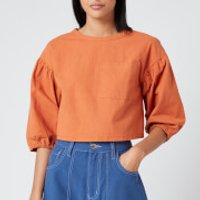 L.F Markey Womens Fabian Top - Terracotta - UK 8