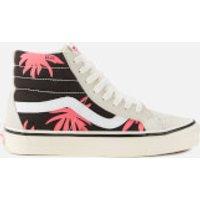 Vans Anaheim Sk8-Hi 38 DX Trainers - White/Black/Summer Leaf - UK 11