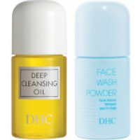 DHC Double Cleanse Essentials Set (Worth PS9.00)