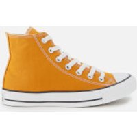 Converse Chuck Taylor All Star Hi-Top Trainers - Saffron Yellow - UK 3