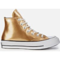 Converse Women's Chuck '70 Hi-Top Trainers - Gold/Black/Egret - UK 5