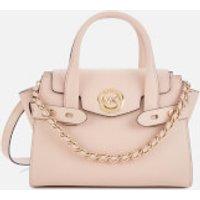 MICHAEL MICHAEL KORS Womens Carmen XS Flap Messenger Bag - Soft Pink
