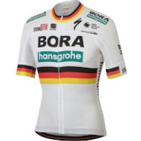 Sportful Bora Hansgrohe German Champion BodyFit Team Jersey - White - S